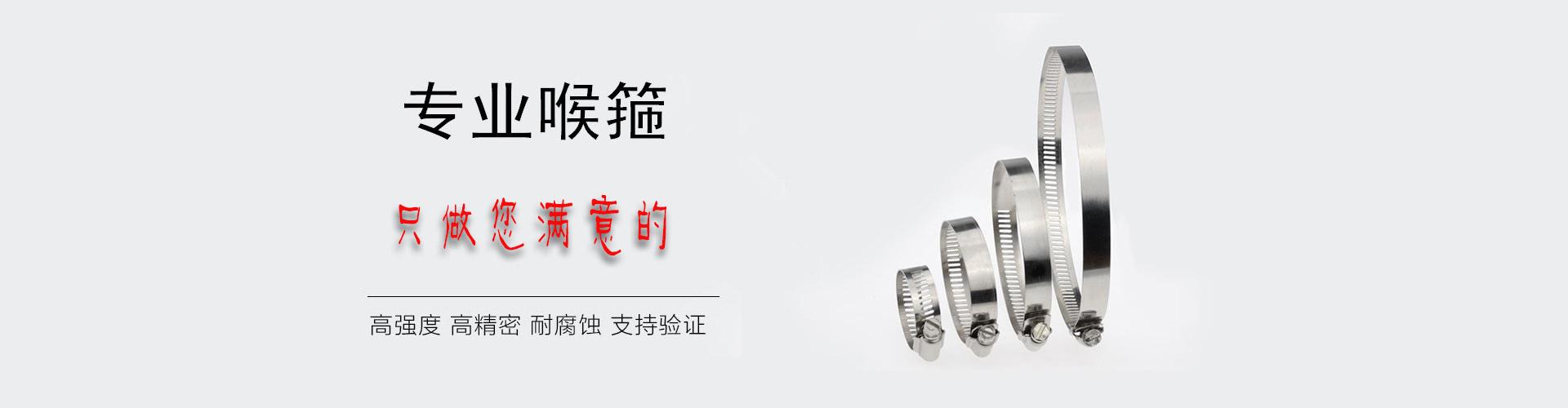 不锈钢喉箍生产厂家