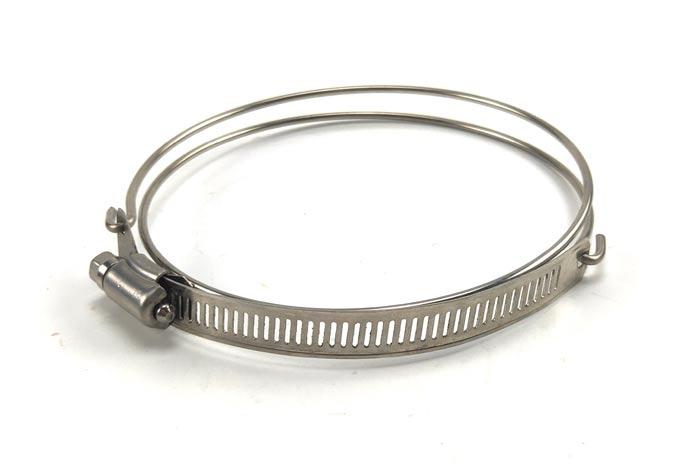 不锈钢美式钢丝喉箍
